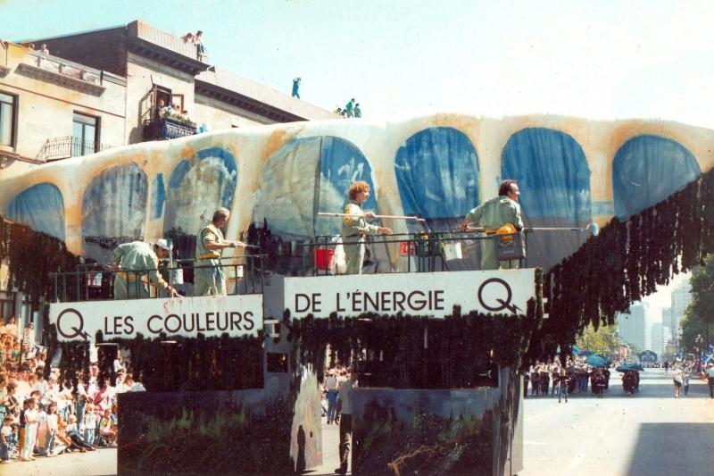 Défilé de la Saint-Jean Baptiste – 1987